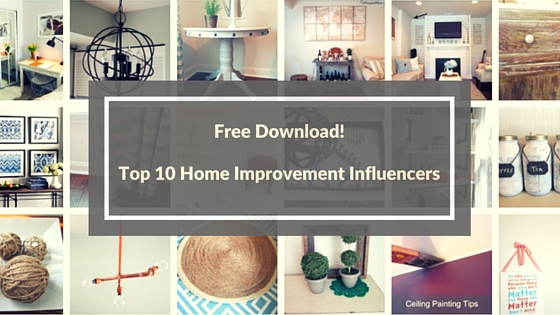 Top 10 home improvement diy influencers on the web today for Home design influencers